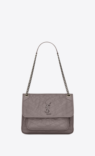 Saint Lau Niki Medium In Vintage Leather Ysl
