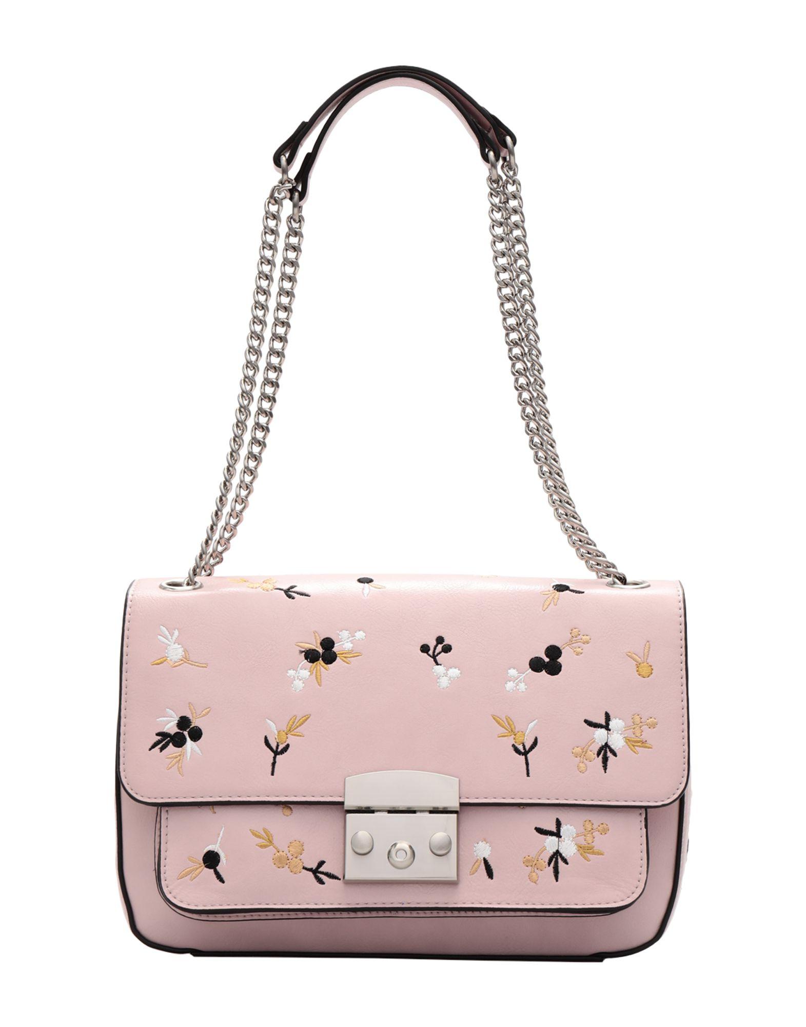 《送料無料》ESSENTIEL ANTWERP レディース メッセンジャーバッグ ピンク ポリウレタン 100% Piglesias shoulderbag