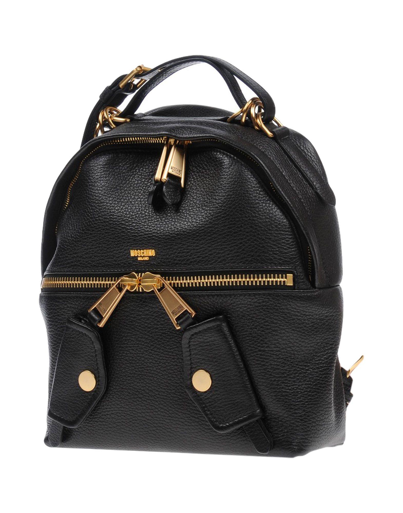 MOSCHINO Рюкзаки и сумки на пояс мужские сумки
