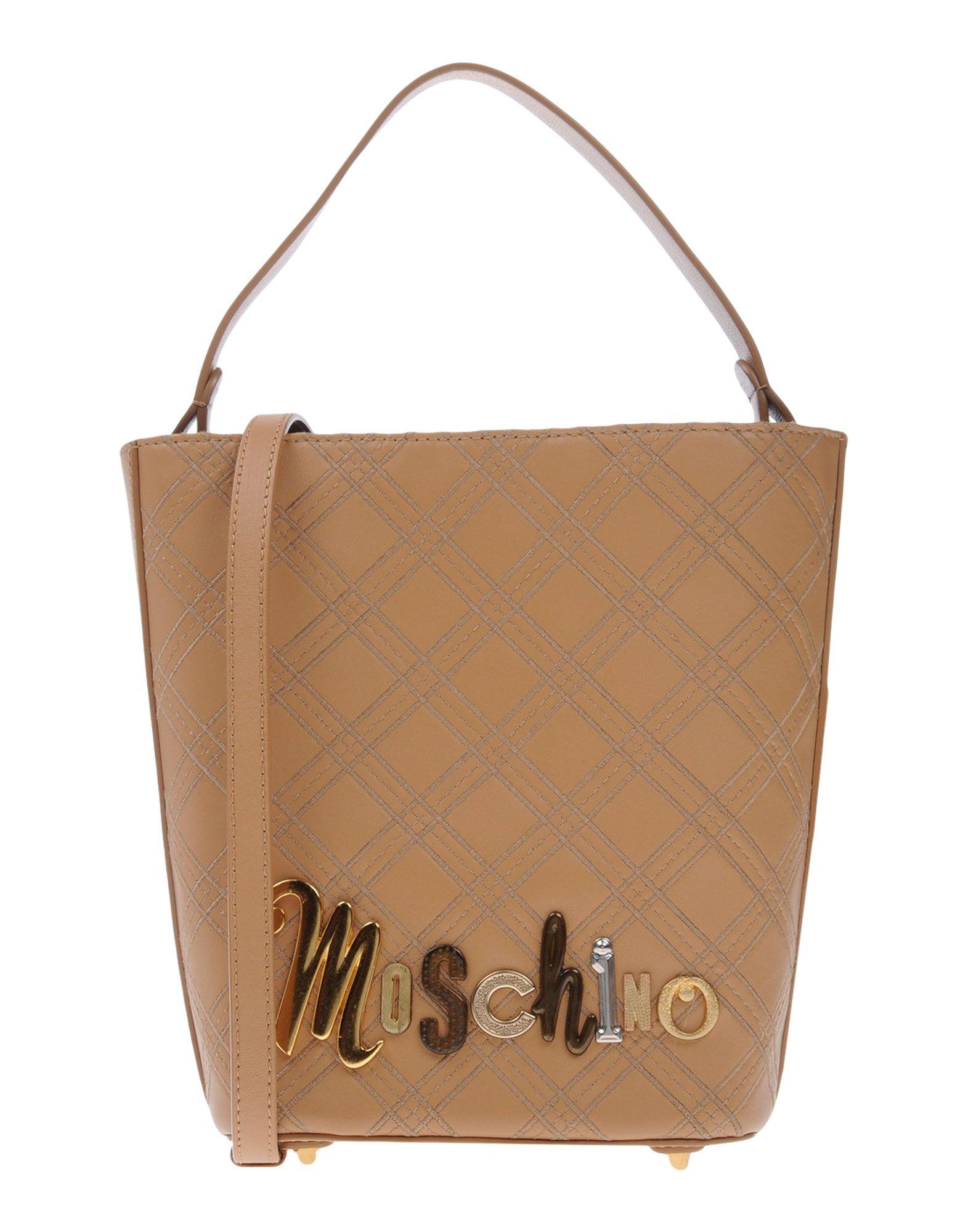 MOSCHINO Сумка на руку sammons sammons мужской заголовок слой кожи плеча мешок человек сумка досуг сумка 190263 01 черный