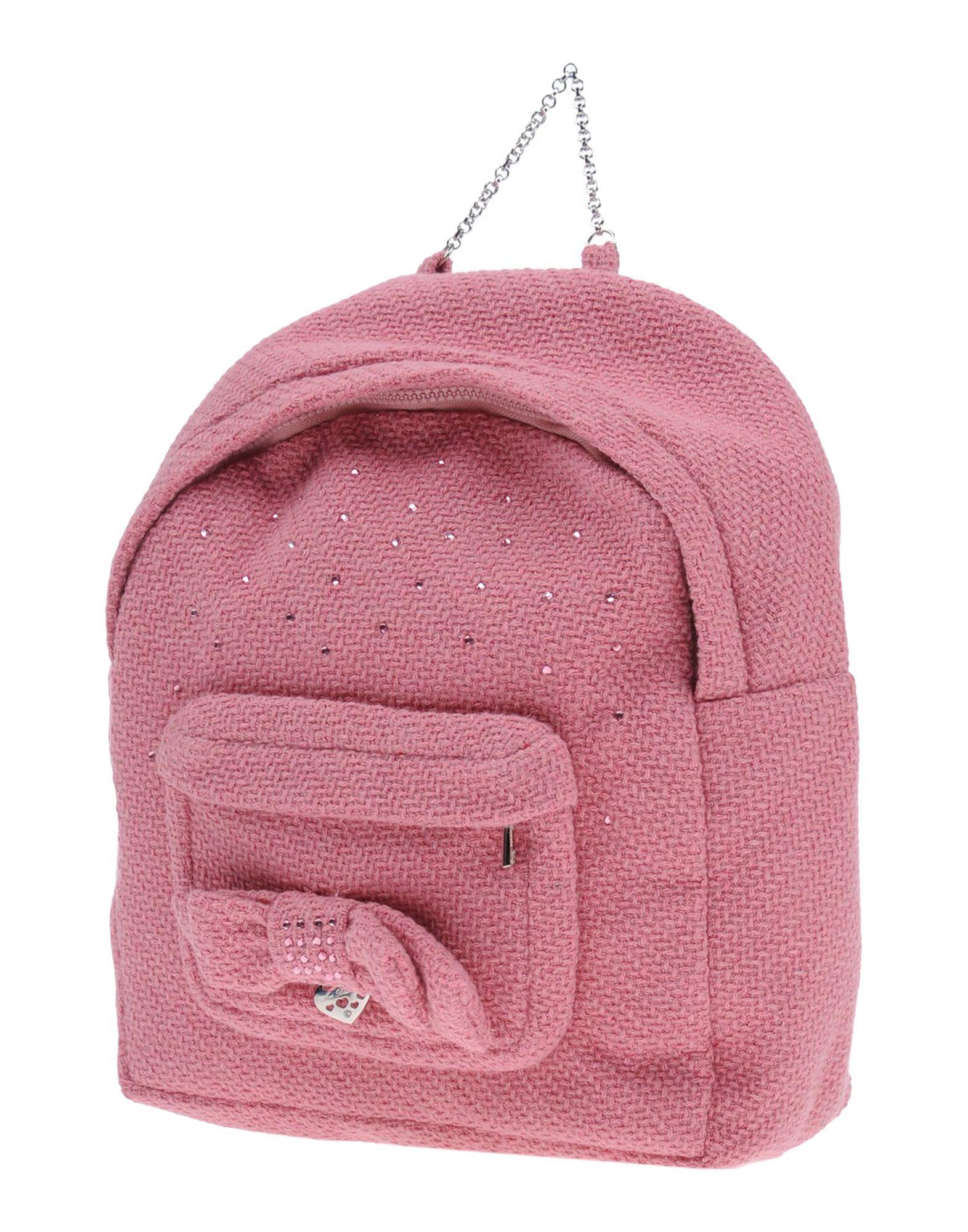 MISS BLUMARINE Рюкзаки и сумки на пояс miss blumarine ремень