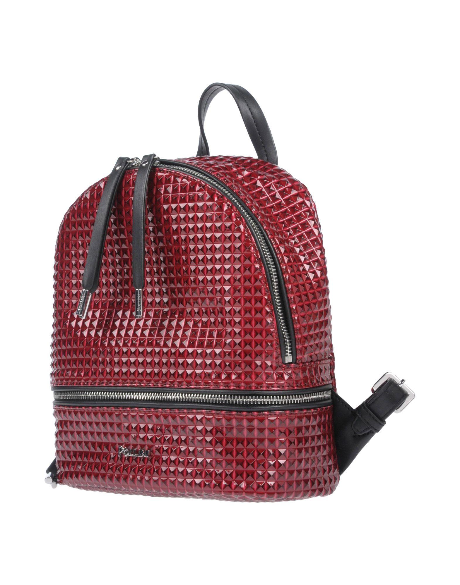 POLLINI Рюкзаки и сумки на пояс мужские сумки