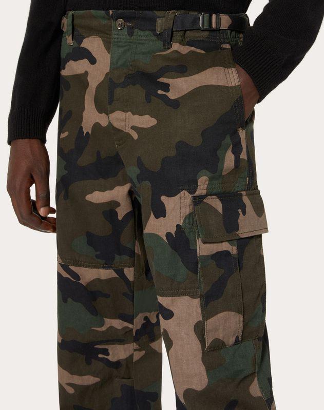Pantalón cargo camuflaje