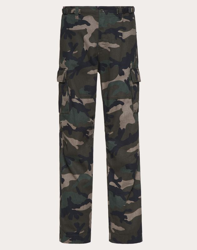 Cargo-Hose in Camouflage-Optik