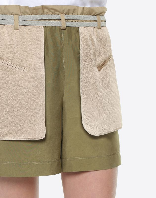 Schappe silk shorts