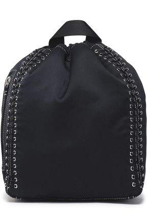 3.1 PHILLIP LIM Go-Go whipstitched satin backpack