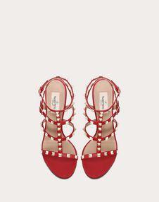 Rockstud 小牛皮袢带 100 mm 凉鞋
