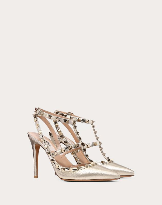 Metallic Rockstud Caged Pump 100mm