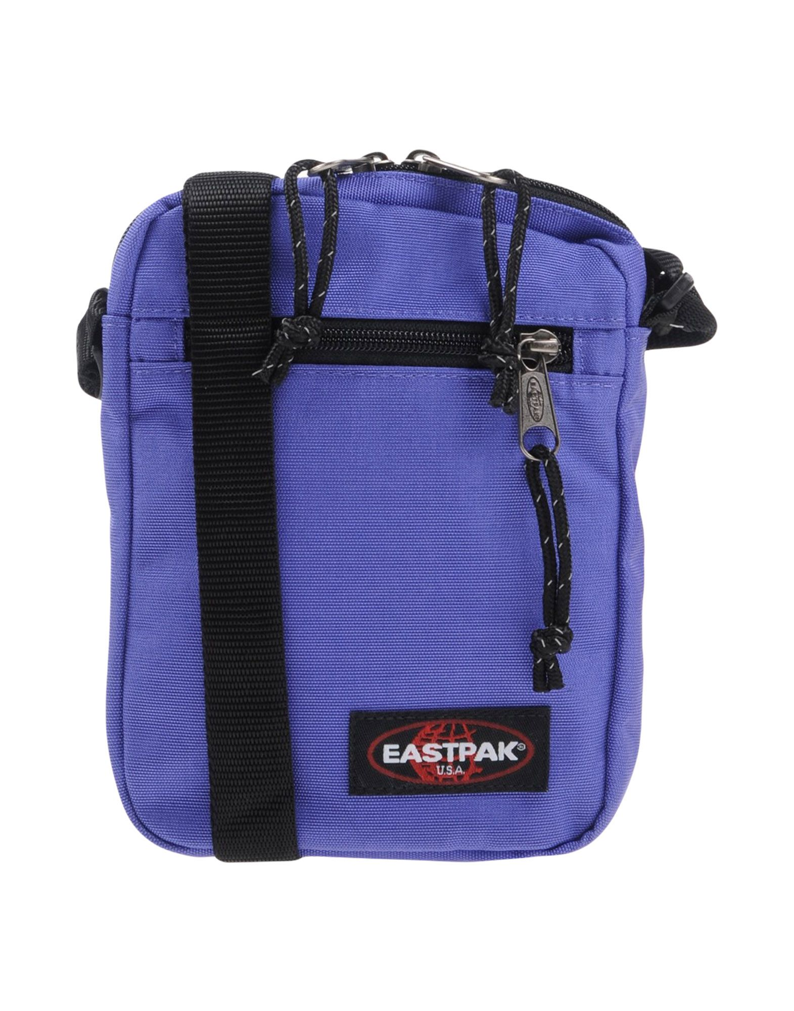 《送料無料》EASTPAK メンズ メッセンジャーバッグ パープル 紡績繊維