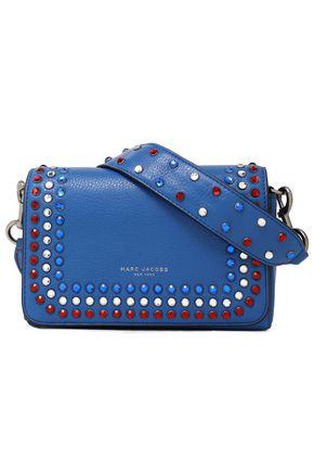 31df701f7a61 MARC JACOBS Crystal-embellished leather shoulder bag ...