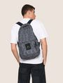 ARMANI EXCHANGE NYLON TESSELLATED LOGO BACKPACK Backpack Man e
