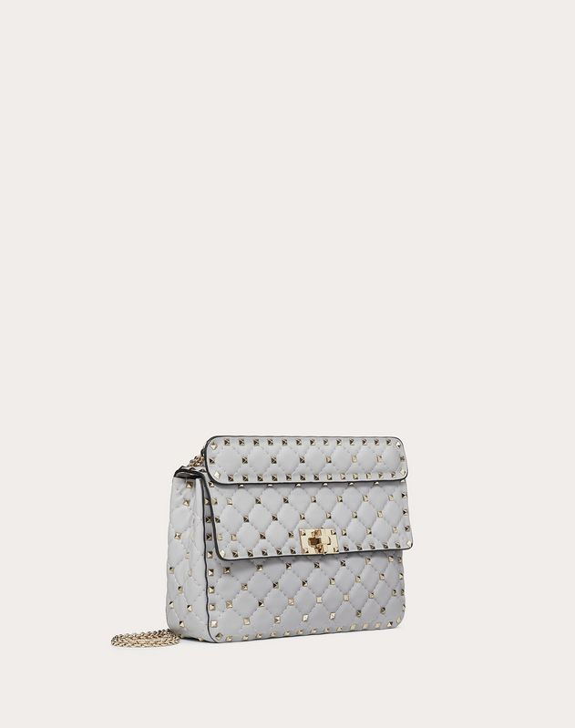 Medium Rockstud Spike Nappa Leather Bag