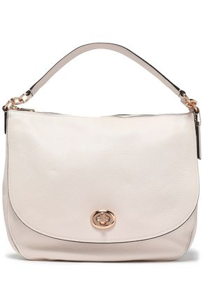 COACH Pebbled-leather shoulder bag