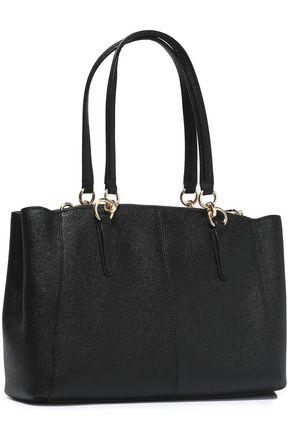 Coach Textured Leather Shoulder Bag