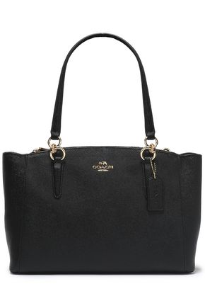 COACH Textured-leather shoulder bag