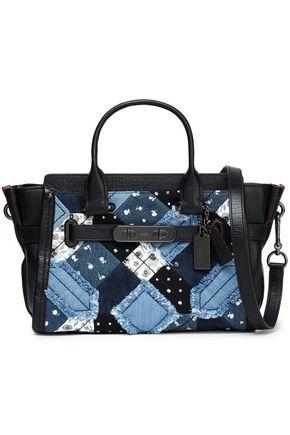 COACH Mini leather shoulder bag