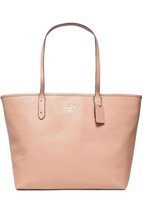COACH Textured-leather tote