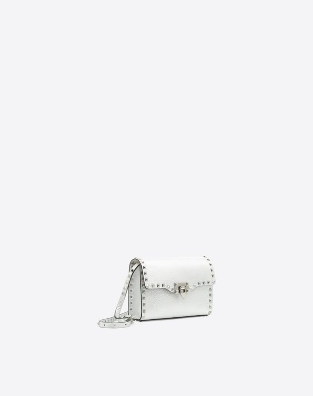 Metallic Rockstud Shoulder Bag