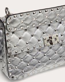 Medium Metallic Rockstud Spike Bag