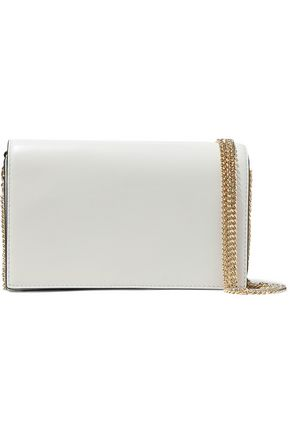 DIANE VON FURSTENBERG Two-tone leather shoulder bag