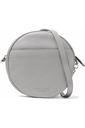 HALSTON HERITAGE Pebbled-leather shoulder bag