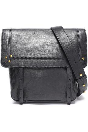 JÉRÔME DREYFUSS Textured-leather shoulder bag