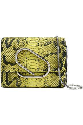 3.1 PHILLIP LIM Snake-effect leather shoulder bag