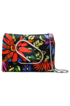 3.1 PHILLIP LIM Floral-print leather shoulder bag