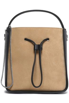3.1 PHILLIP LIM Two-tone leather and suede tote