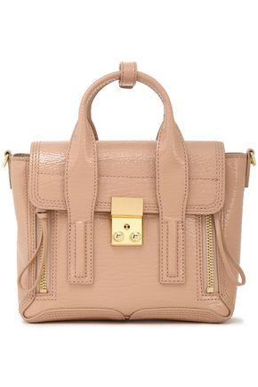 3.1 PHILLIP LIM Mini patent-leather shoulder bag