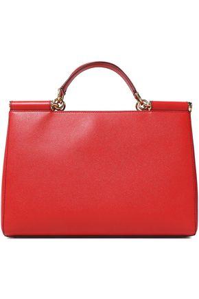 Dolce Gabbana Textured Leather Shoulder Bag