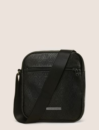 EMBOSSED LOGO REPORTER BAG