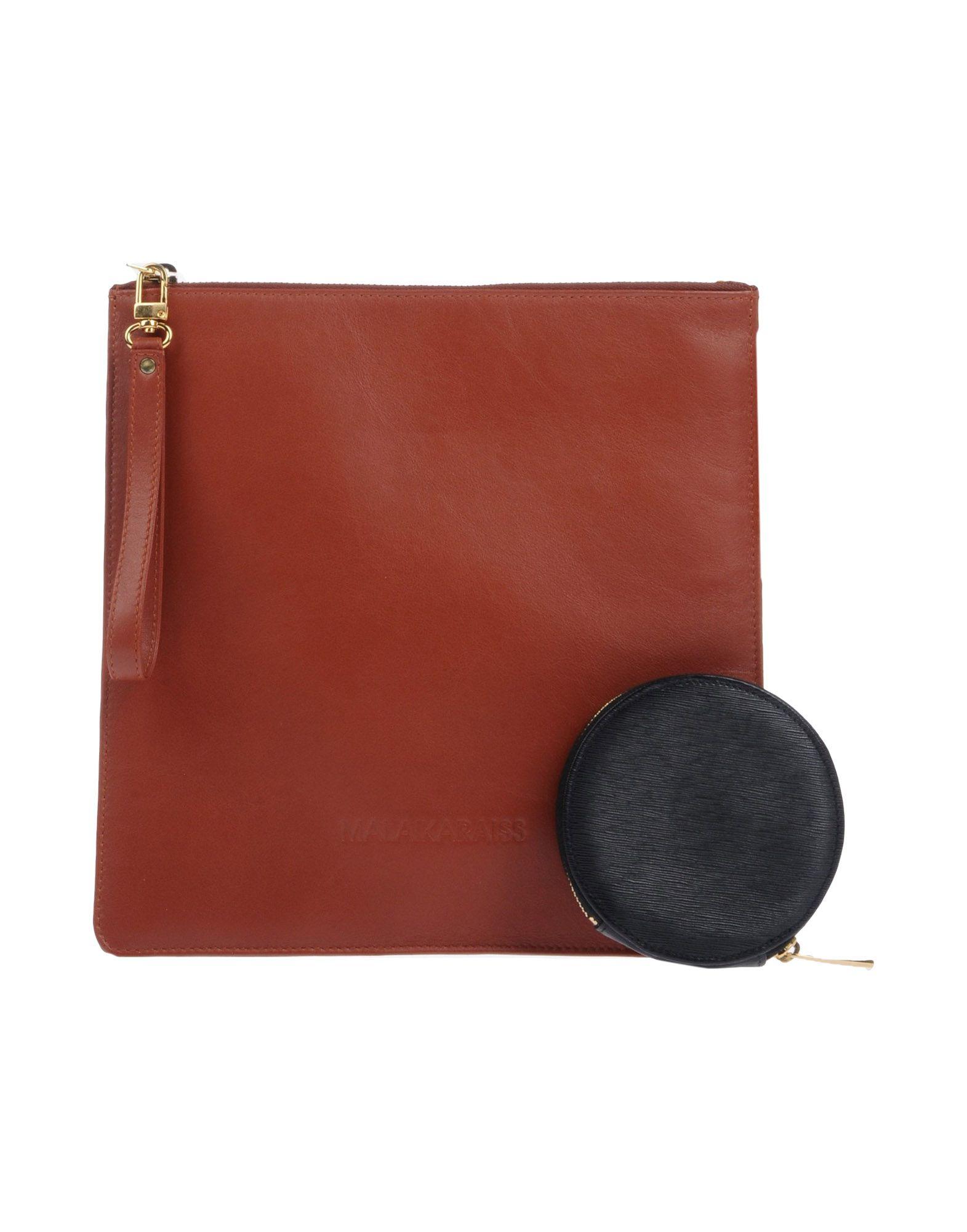 MALAIKA RAISS Handbag in Brown
