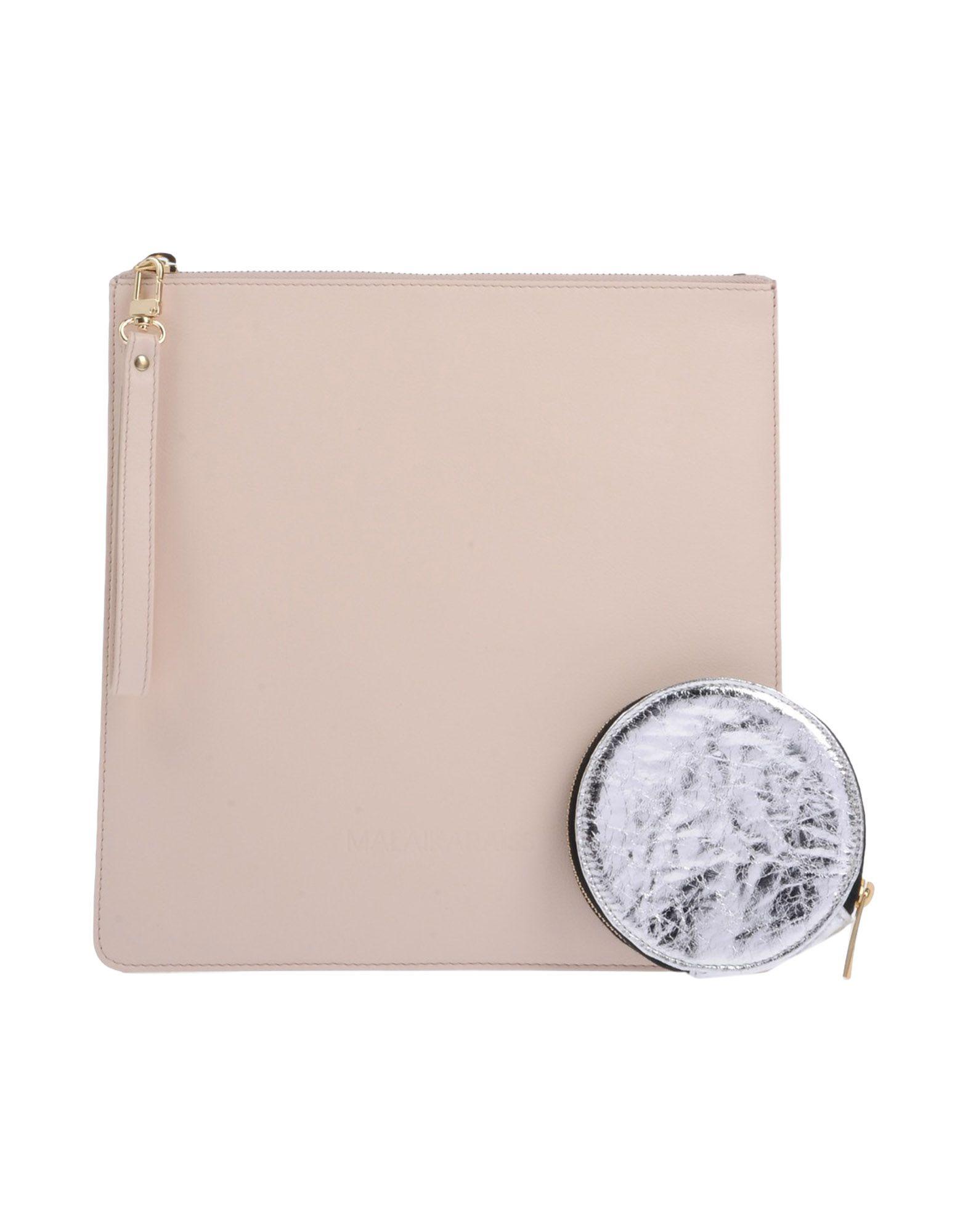 MALAIKA RAISS Handbag in Light Pink