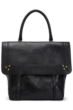 JÉRÔME DREYFUSS Textured-leather shoulder bag