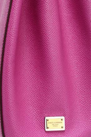 ... shoulder bag  DOLCE   GABBANA Textured-leather shoulder ... c6f14b0bc3477