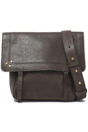 JÉRÔME DREYFUSS Studded textured-leather shoulder bag