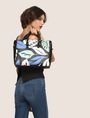 ARMANI EXCHANGE MEDIUM LEAF PRINT SATCHEL Satchel bag Woman e