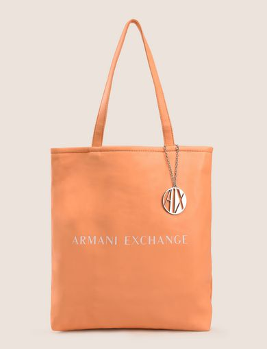 ROUND LOGO REVERSIBLE MEDIUM TOTE