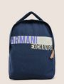 ARMANI EXCHANGE LOGO STRIPE BACKPACK Backpack Man f