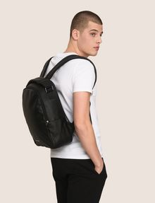 ARMANI EXCHANGE EMBOSSED DIAMOND LOGO BACKPACK Backpack Man e