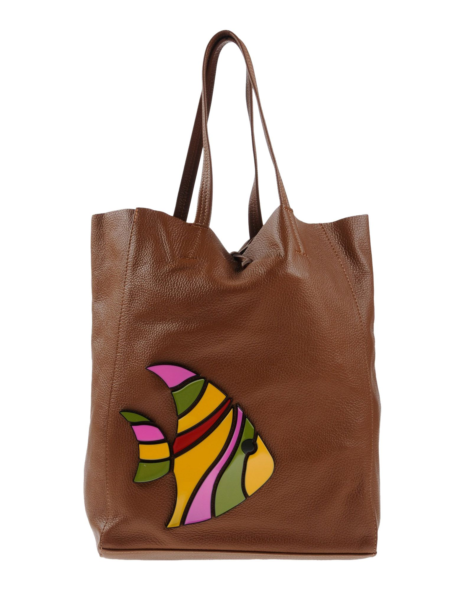 ALMALA Handbag in Brown