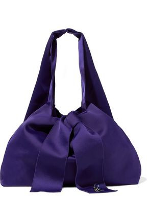3.1 PHILLIP LIM Knotted embellished satin tote