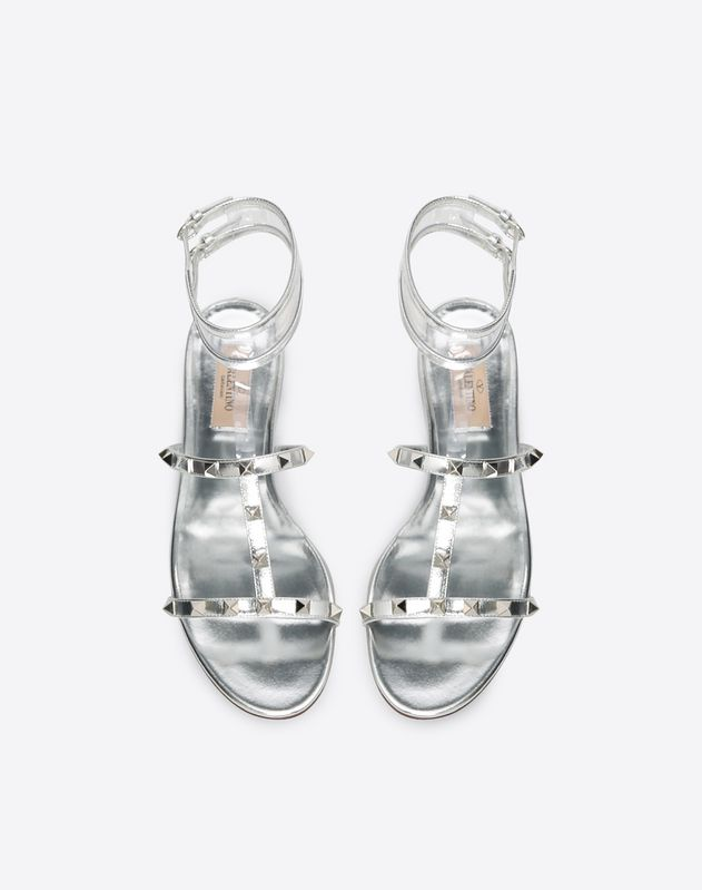 See-through flat sandal