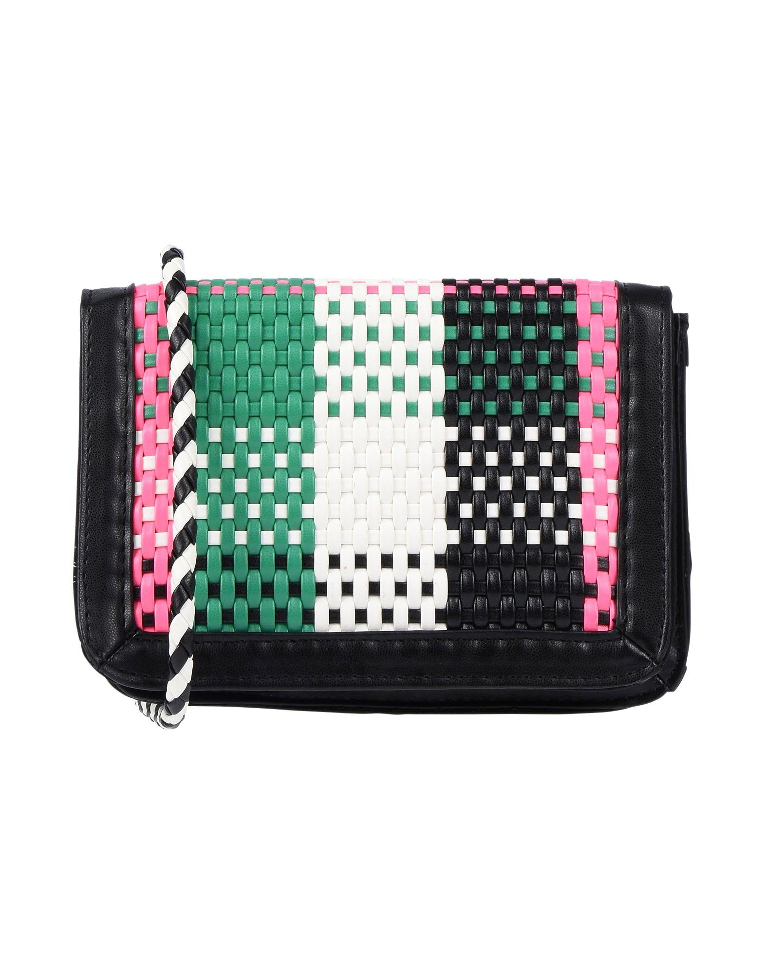 《送料無料》ESSENTIEL ANTWERP レディース メッセンジャーバッグ グリーン 80% ポリエステル 20% ポリウレタン Pagliari mini shoulderbag