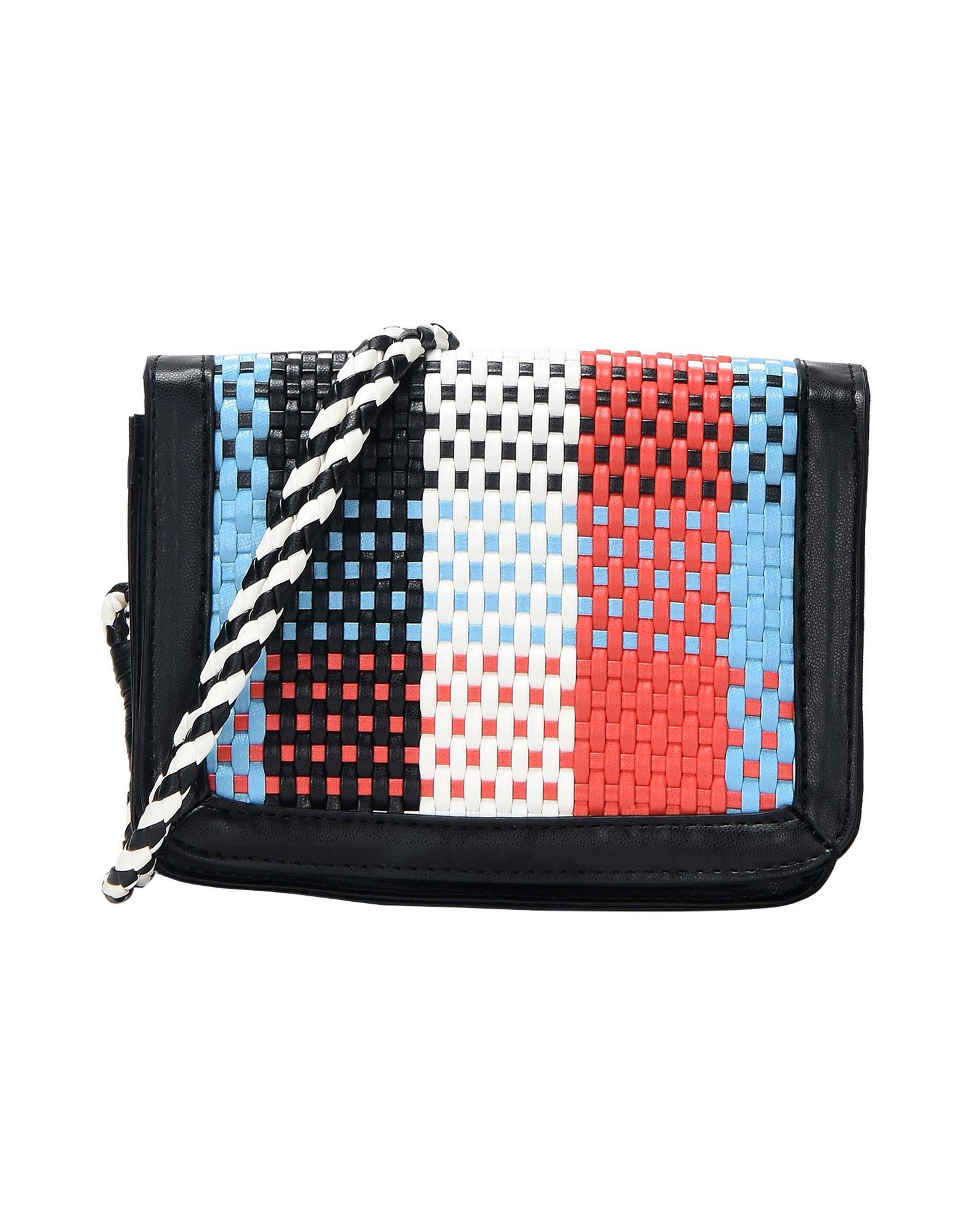 《送料無料》ESSENTIEL ANTWERP レディース メッセンジャーバッグ ブラック 80% ポリエステル 20% ポリウレタン Pagliari mini shoulderbag