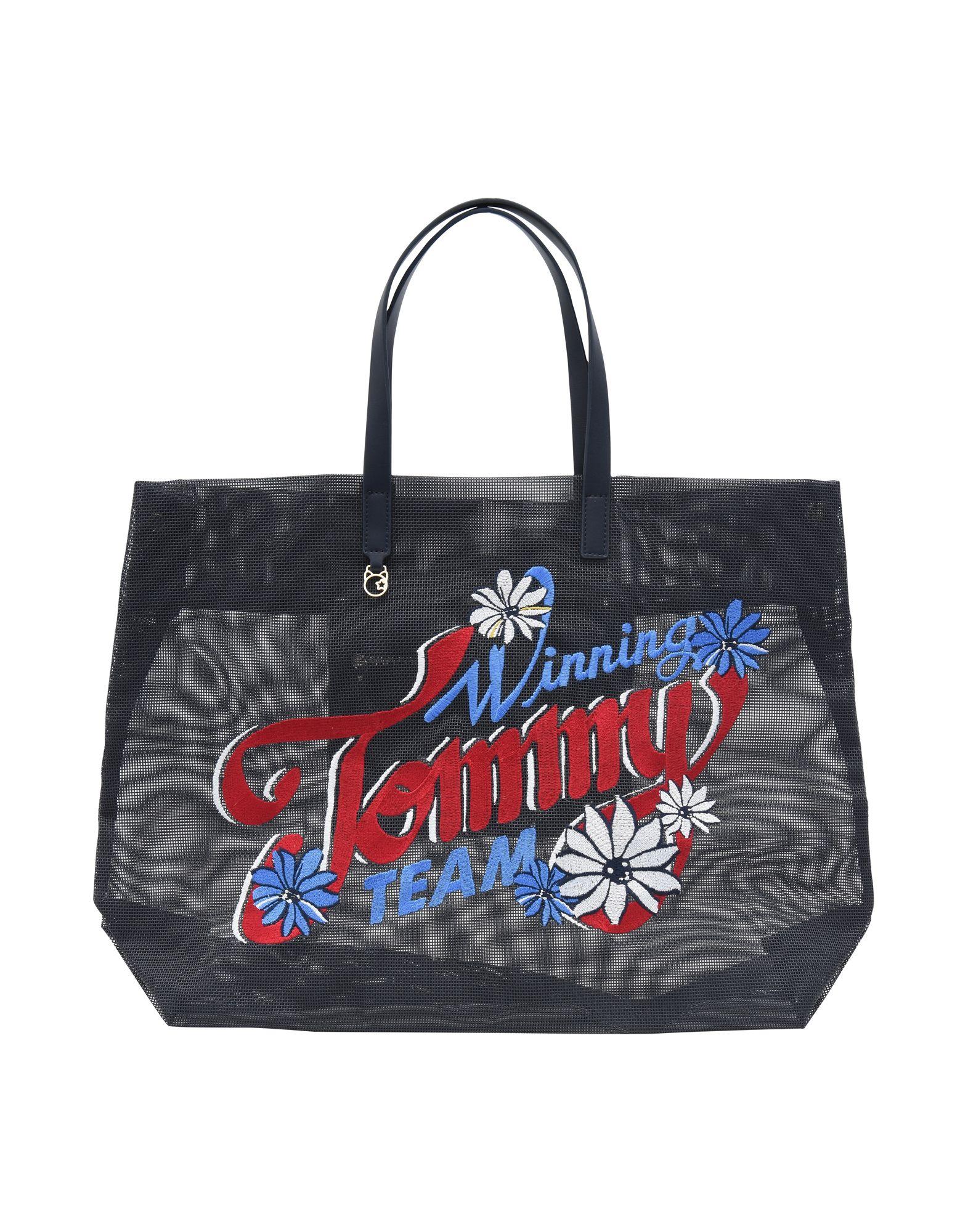 TOMMY HILFIGER Сумка на руку сумка tommy hilfiger am0am02415 002 black
