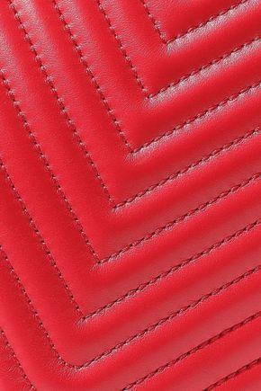 FENDI Dot Com quilted leather shoulder bag