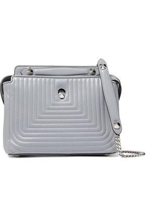 FENDI DotCom quilted leather shoulder bag