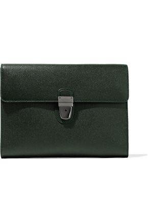 DOLCE & GABBANA Textured-leather clutch